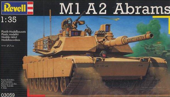 revell 1 35  M1 A2 Abrams Revell 03059 1:35