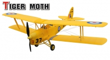 biplano Dynam Tiger moth PNP 1270mm