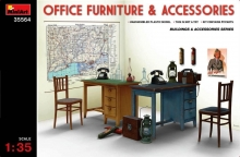35564 MiniArt Office forniture e accassories 1:35