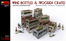 35571 MiniArt Wine Bottles 1:35