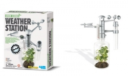 4m stazione meteo 00-03279 Kidz Labs Green Science Weather Station kit scientifico da montare