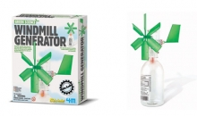 generatore di moto eolico  4M kit scientifico didattico 00-03267 Kidz Labs Green Science Windmill Generator