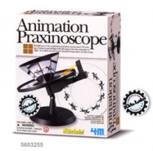 4M kit scientifico didattico 00-03255 KidzLabs Animation Praxinoscope esperimenti per ragazzi