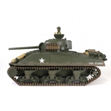 Carro Armato RC CARRO U.S. Medium Tank Sherman M4A3 Tank RC Scala 1:24