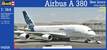 aereo modellismo statico revell scala 1:144 Airbus A380 New Livery