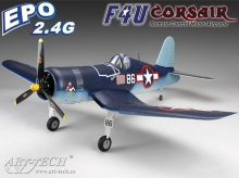 F4U CORSAIR EPO art-tech versione PNP Plug n'Play